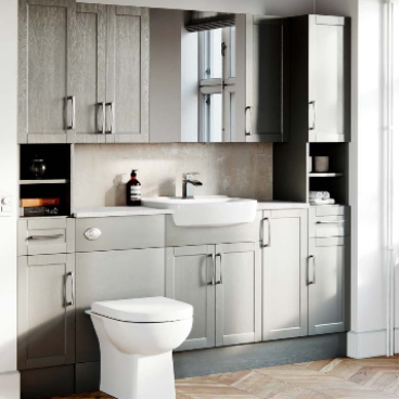 Avalon Textured Dusk Grey Fitted Furniture