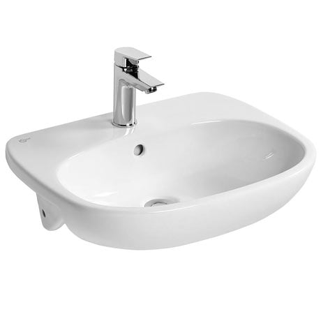 Tesi Semi-Recessed Basin