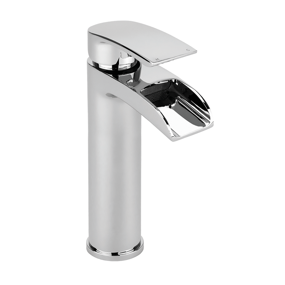Merion Tall Single Lever Mono Basin Mixer (No Waste)