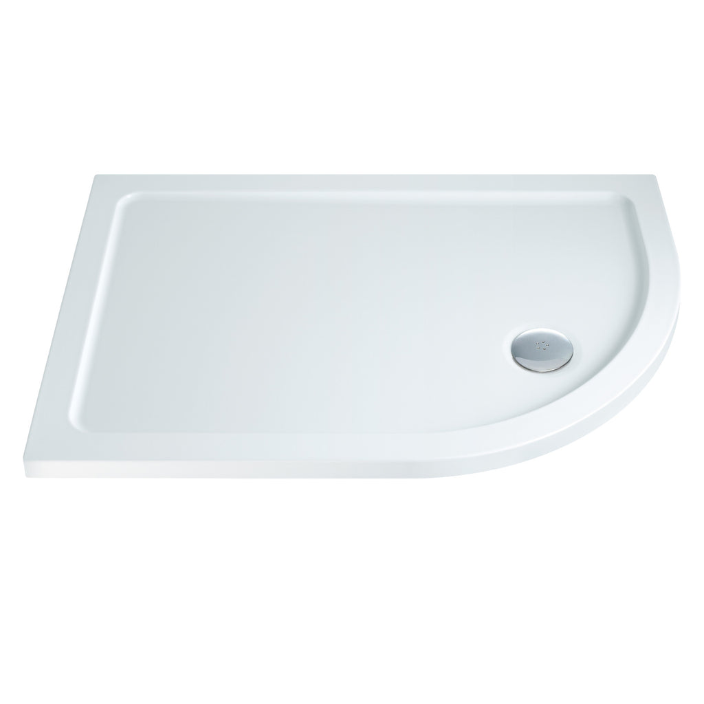 Elements Offset Quadrant Shower Tray