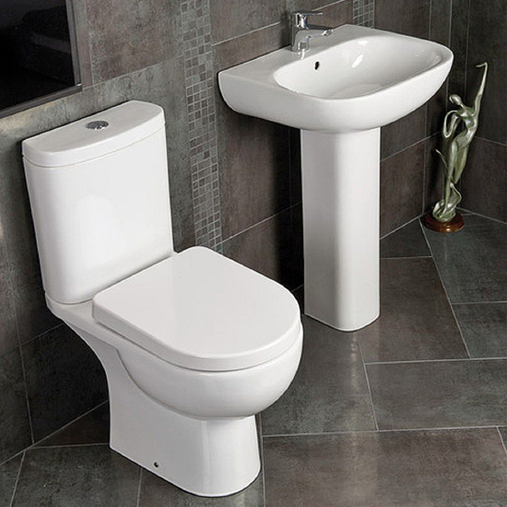 Tonique Bathroom Suite (450mm Basin)