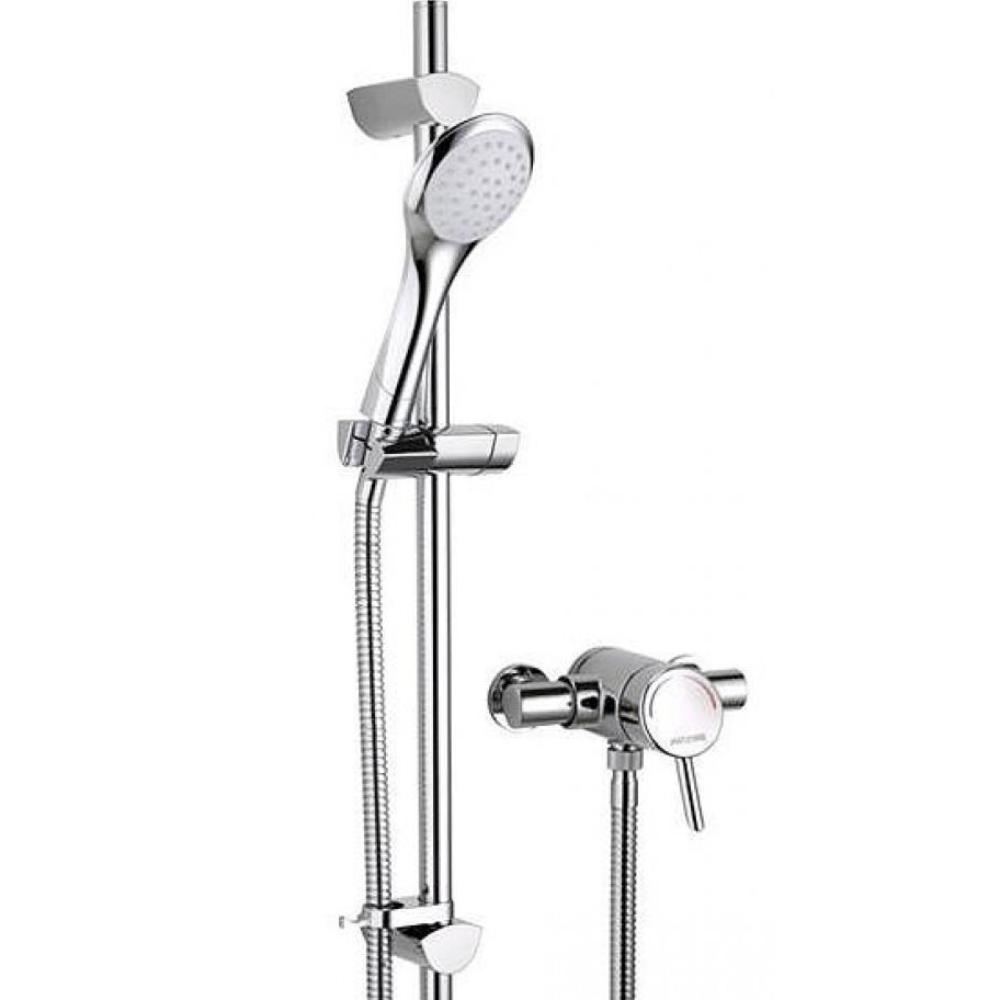 Acute Thermostatic Single Control Mini Valve & Shower Kit