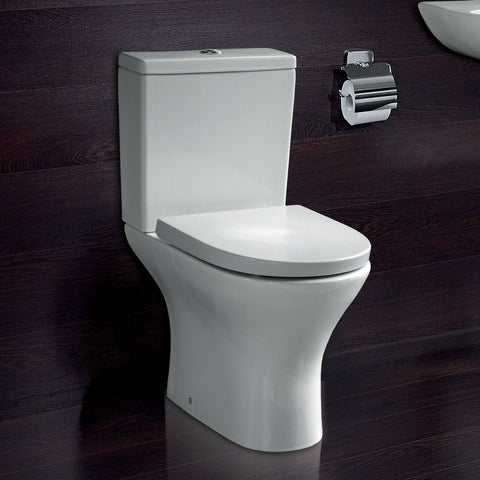 Aleo Round Close Coupled Toilet