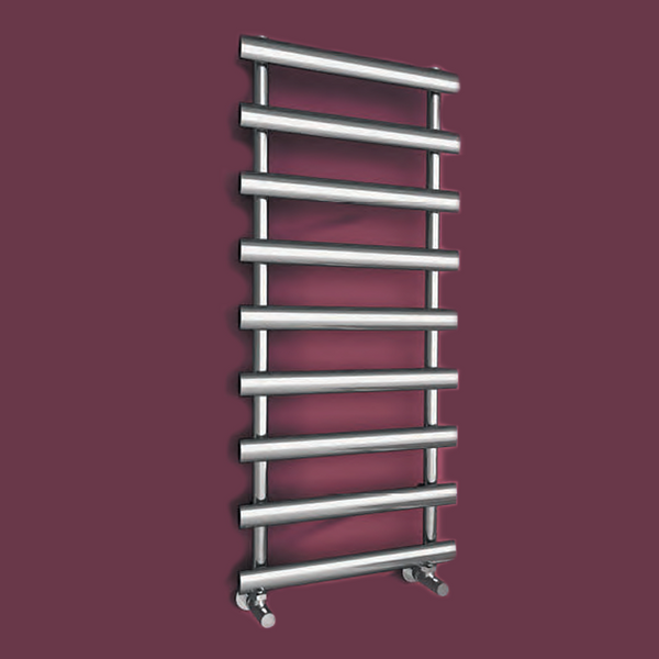 Aline Chrome Steel Radiator