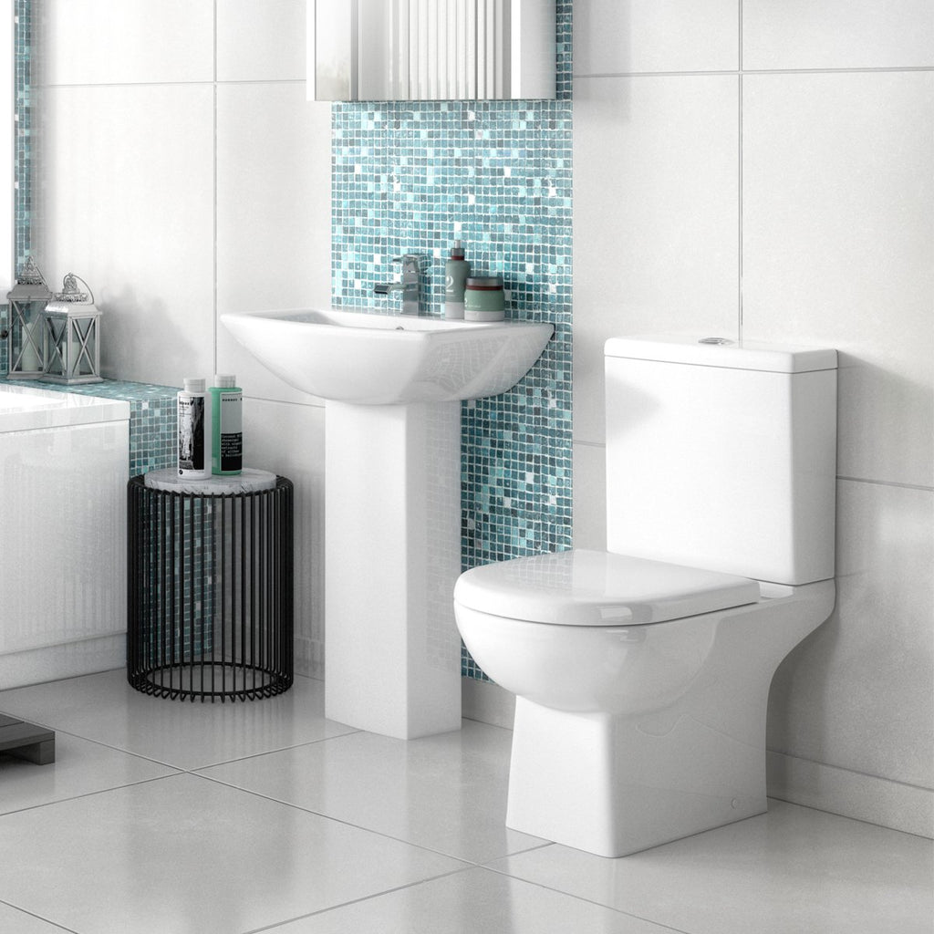 Asselby L Shaped Bathroom Suite
