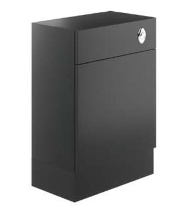 Avalon Graphite 600mm Toilet Unit