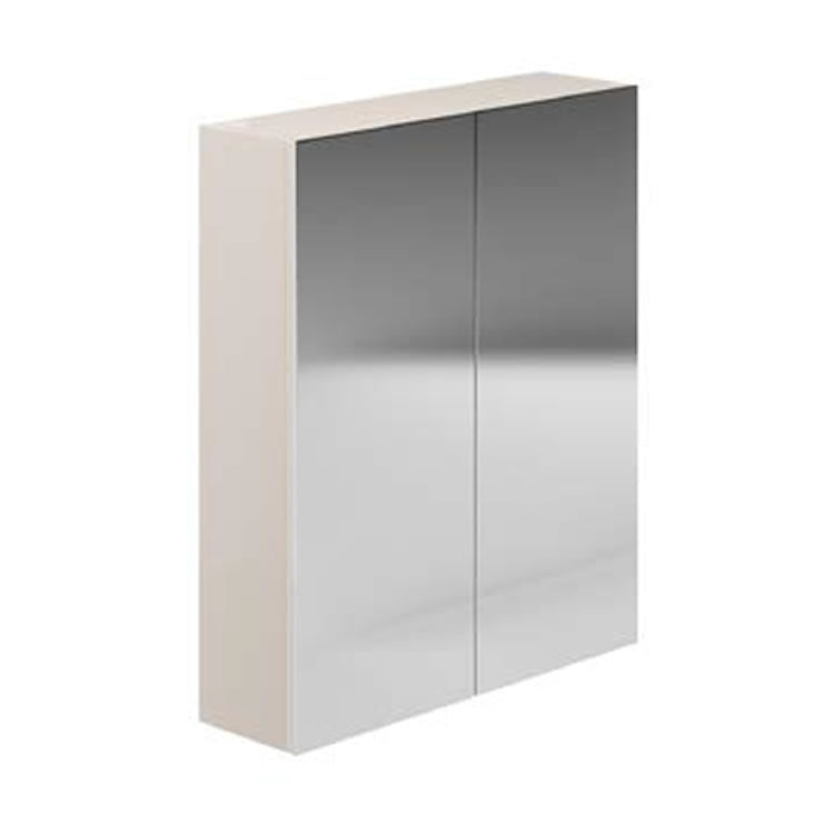 Avalon Cashmere 600mm Double Mirrored Cabinet