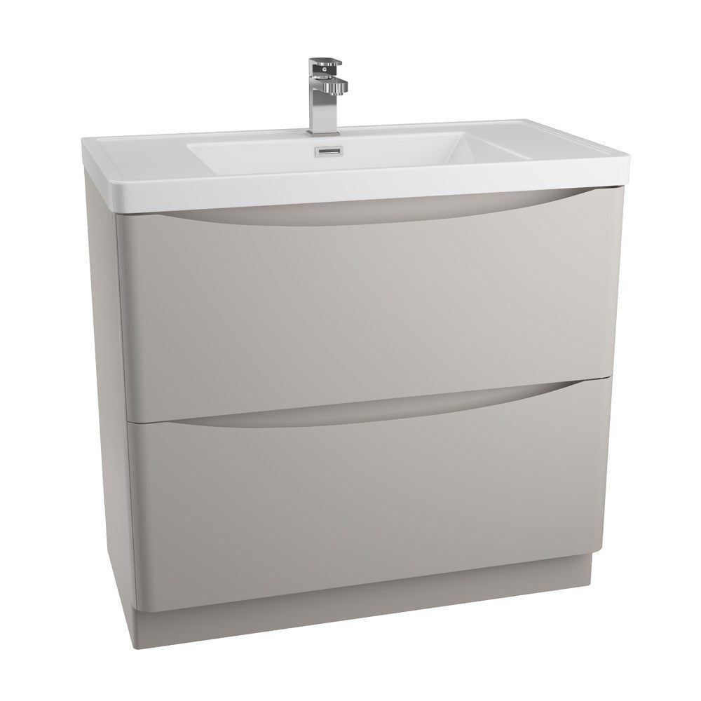 Bali 900mm Floor Standing Unit & Basin