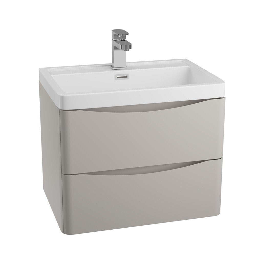 Bali 600mm Wall Hung Unit & Basin