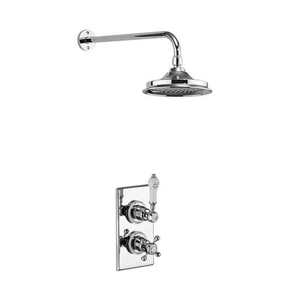 Trent Concealed (Fixed Head) Thermostatic Shower