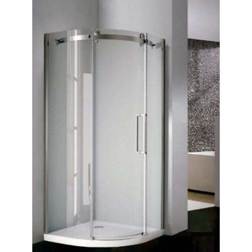 City Frameless DB Single Door 8mm Quadrant
