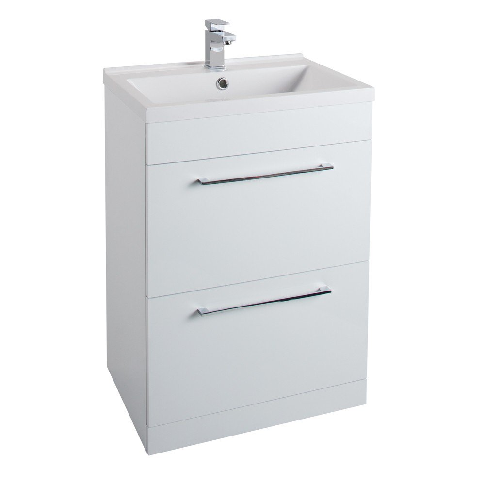 Idon 600mm 2 Drawer Vanity Unit & Basin