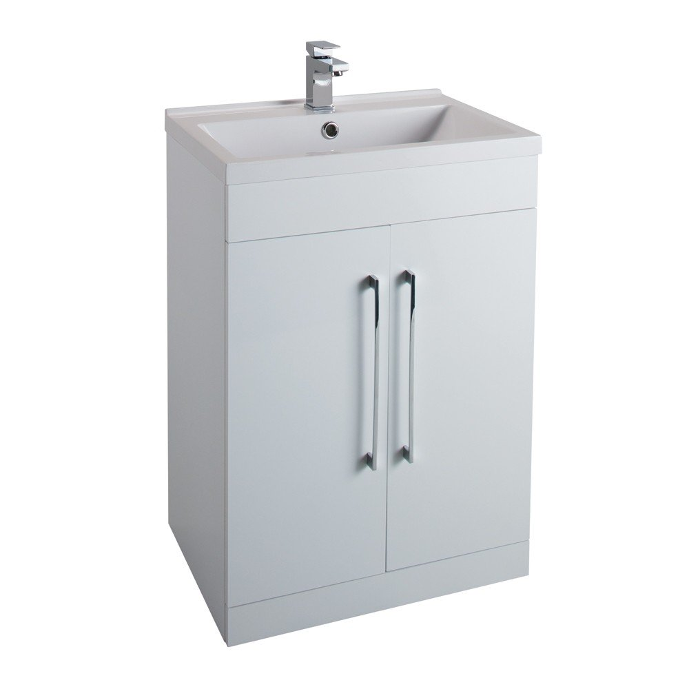 Idon 600mm 2 Door Vanity Unit & Basin