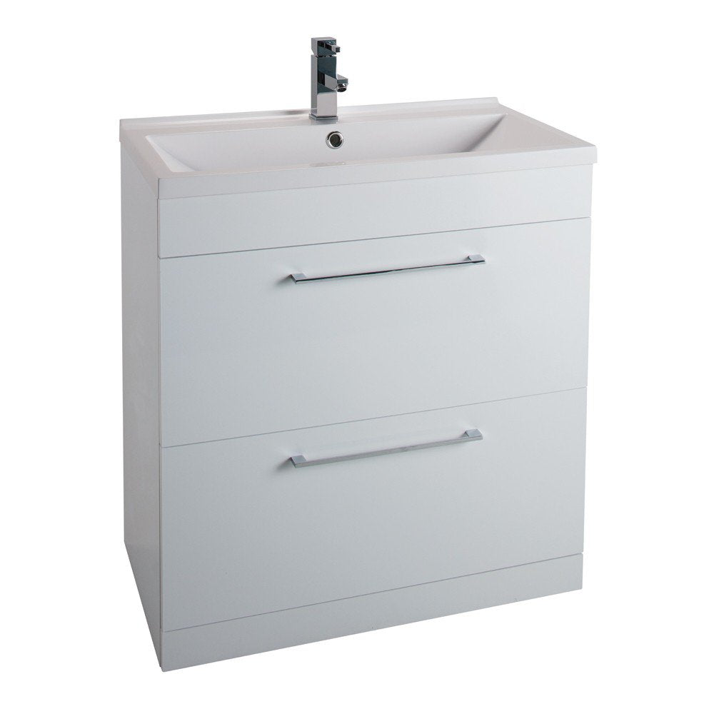 Idon 800mm 2 Drawer Vanity Unit & Basin