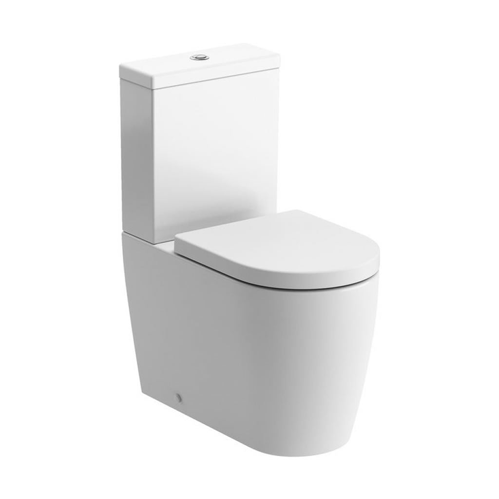 Cilantro Rimless Close Coupled Toilet
