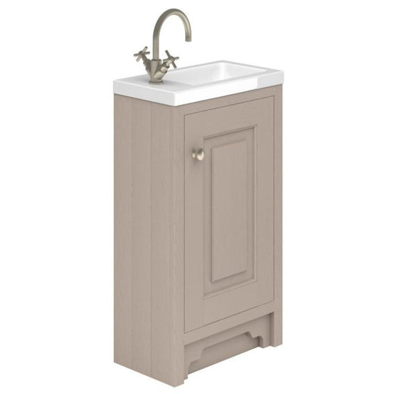 Greenwich Stone Grey Cloakroom Basin Vanity Unit