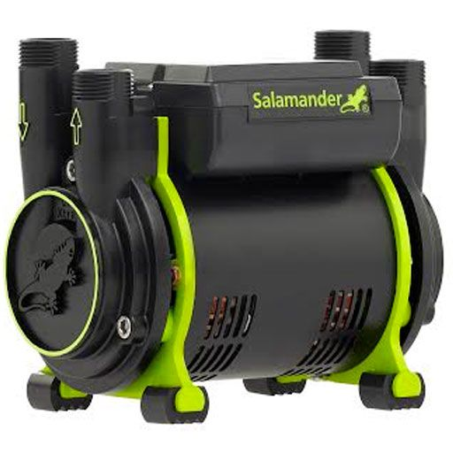 Salamander CT50+ Xtra 1.5 Bar Twin Positive Head Shower Pump