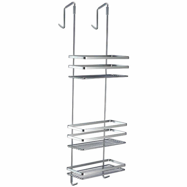 Satina Chrome Cubicle Tidy