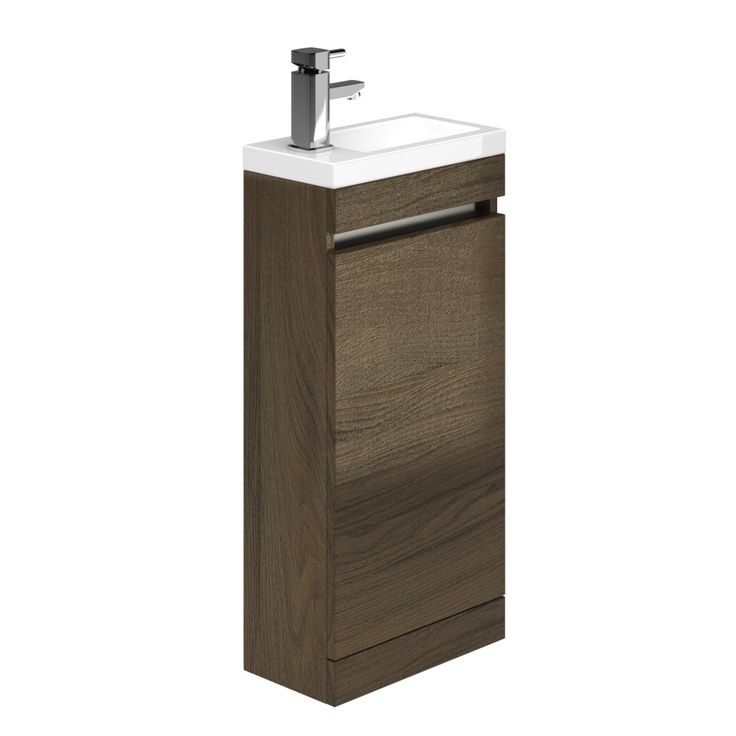 Kensington Handleless Cloakroom Vanity Unit & Basin
