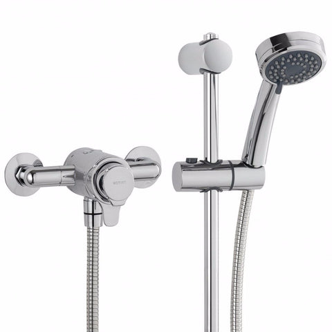 Dene Concentric Thermostatic Mixer Shower