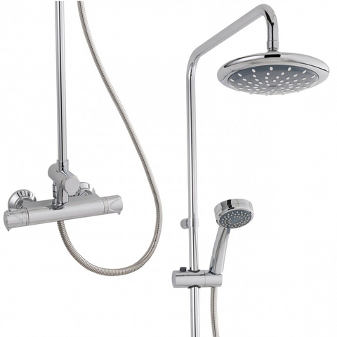 Dene Thermostatic Bar Mixer & Diverter