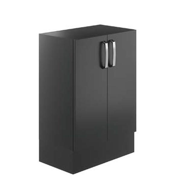 Avalon Graphite 600mm Double Floor Standing Unit