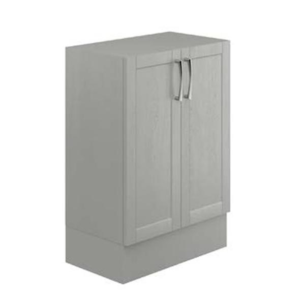 Avalon Dusk Grey 500mm Double Floor Standing Unit