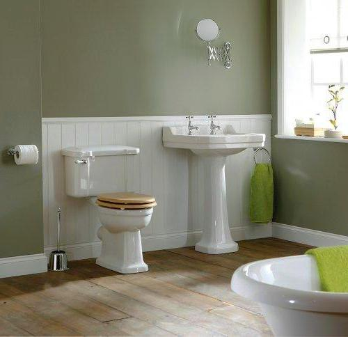 Edwardian Square Bathroom Set