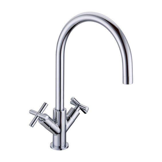 Crosshead Chrome Kitchen Tap