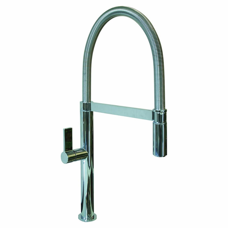 Celia Pull Down Chrome Kitchen Tap