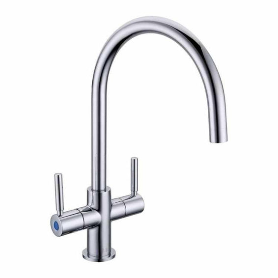 Twin Lever Kitchen Tap