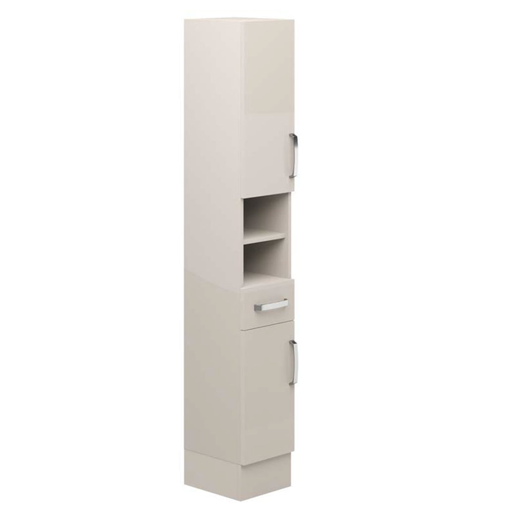 Avalon Cashmere Floor Standing Tall Unit