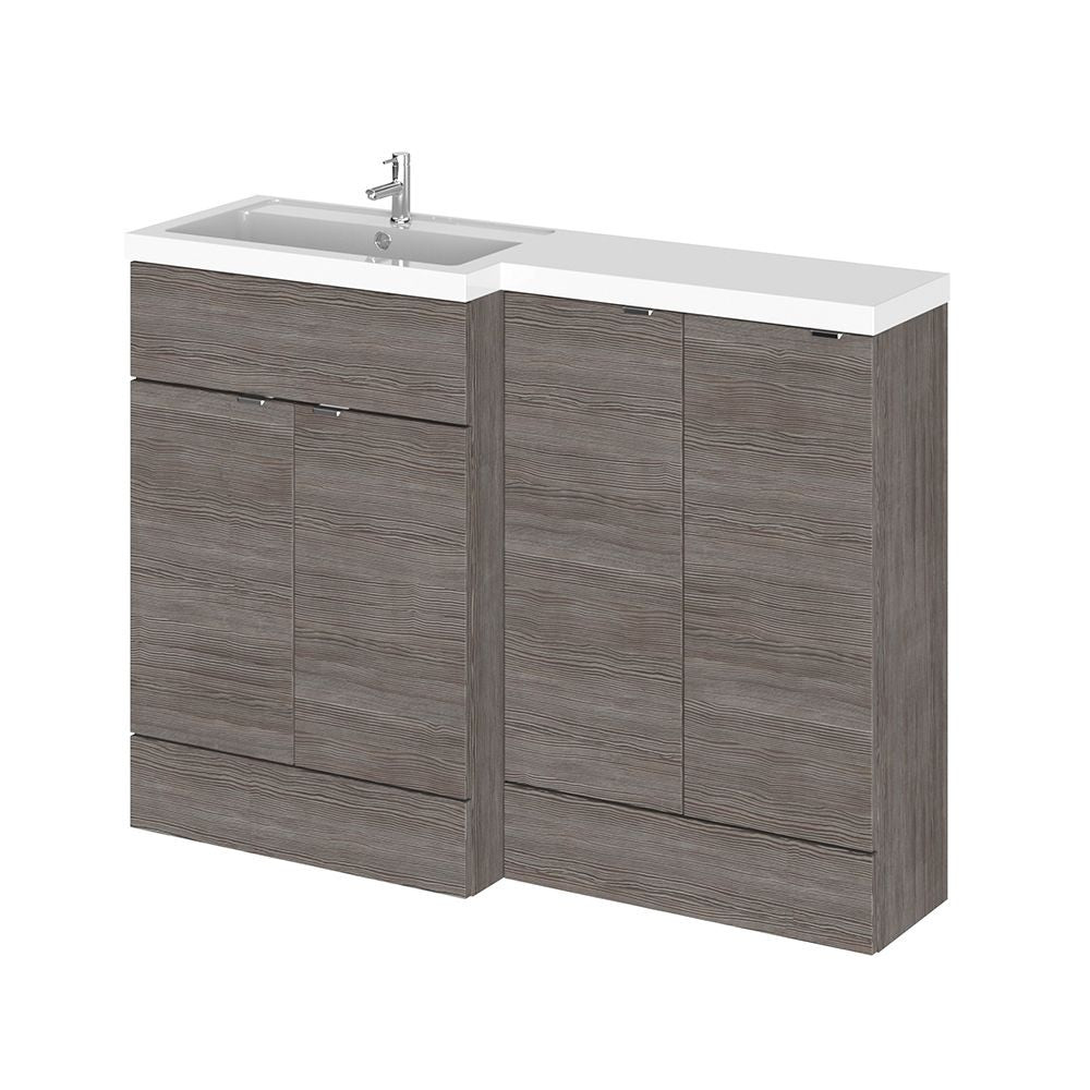 Full Depth 1200mm Combination Vanity Unit & Basin
