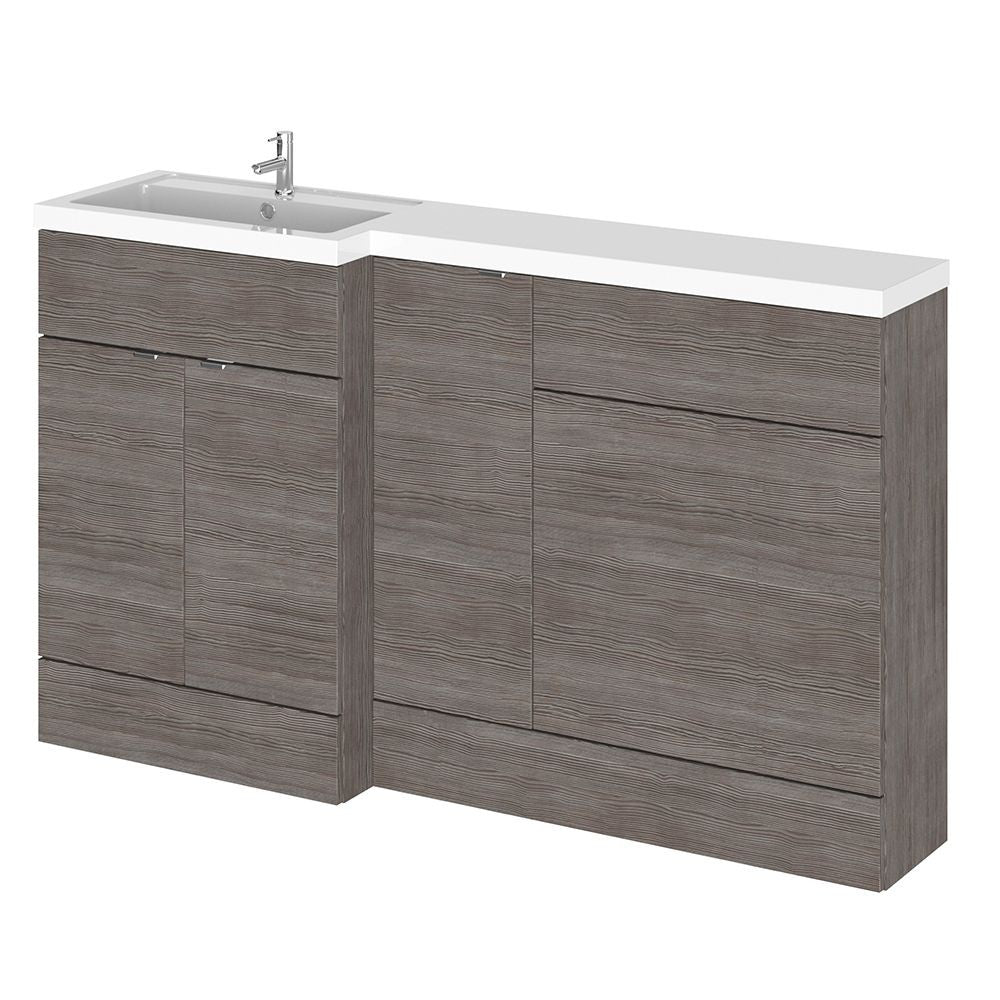Full Depth 1500mm Combination WC/Vanity Unit & Basin