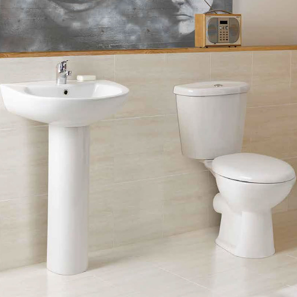 G2 L Shape Bathroom Suite (RRP £699)