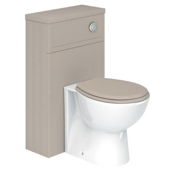Greenwich Stone Grey 500mm Toilet Unit