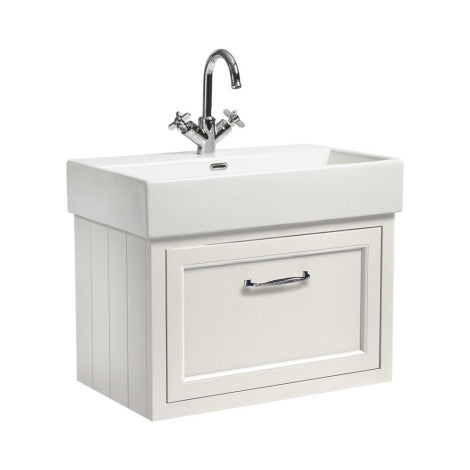 Hampton 700mm Wall Mounted Unit & Basin