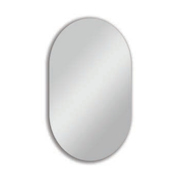 Harrop Rounded Rectangular Mirror