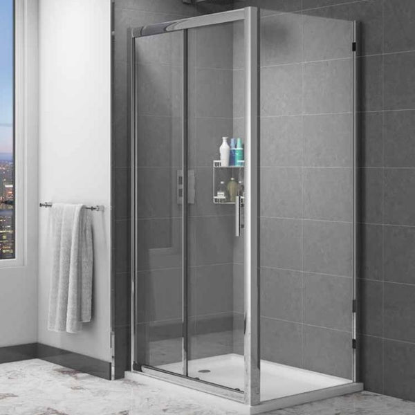 Cass Six Easy Clean Sliding Door Enclosure
