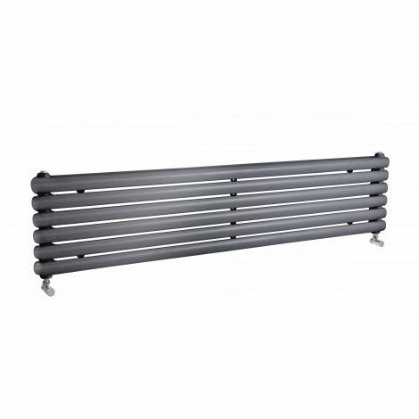Salvia Double Panel Wide Horizontal Radiator