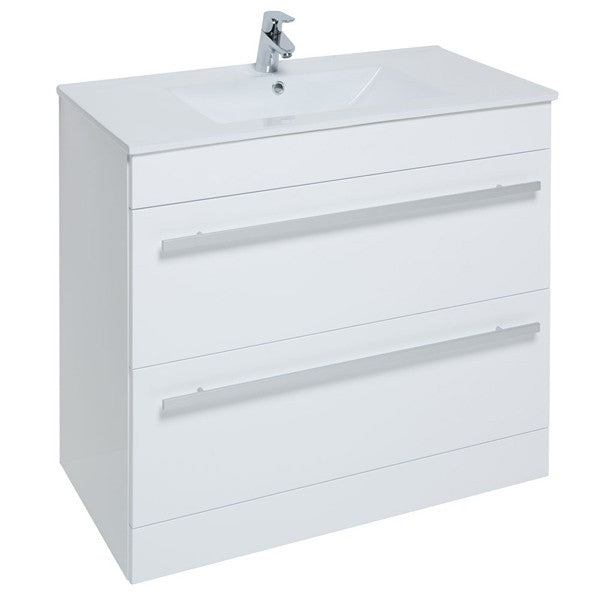Purity Floor Standing 2 Drawer Unit & Basin - 600, 750, 900mm