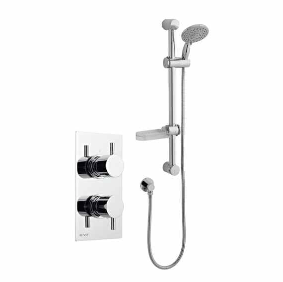 Plan Thermostatic Concealed Shower Valve Inc Riser Rail Kit