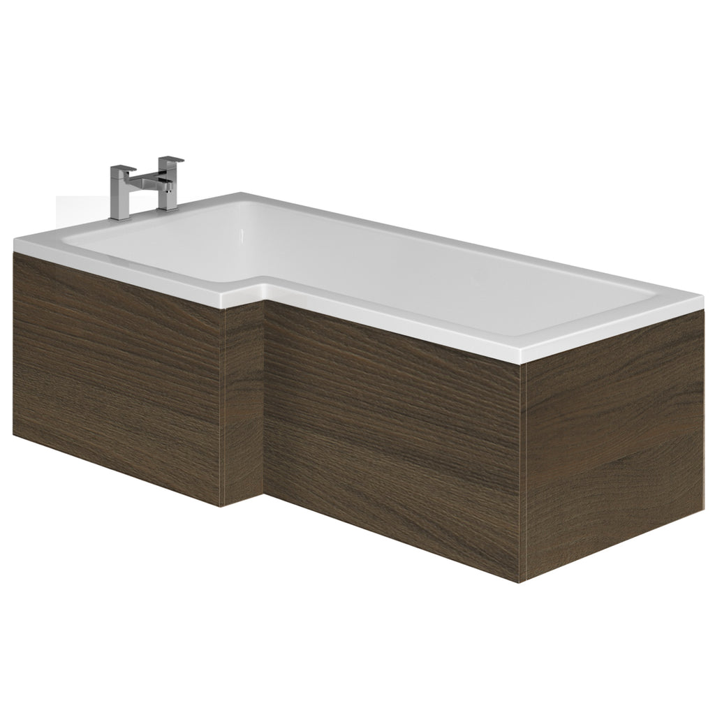 Carrs L Shape Bath Front & End Panel - 1700mm, Multiple Finishes