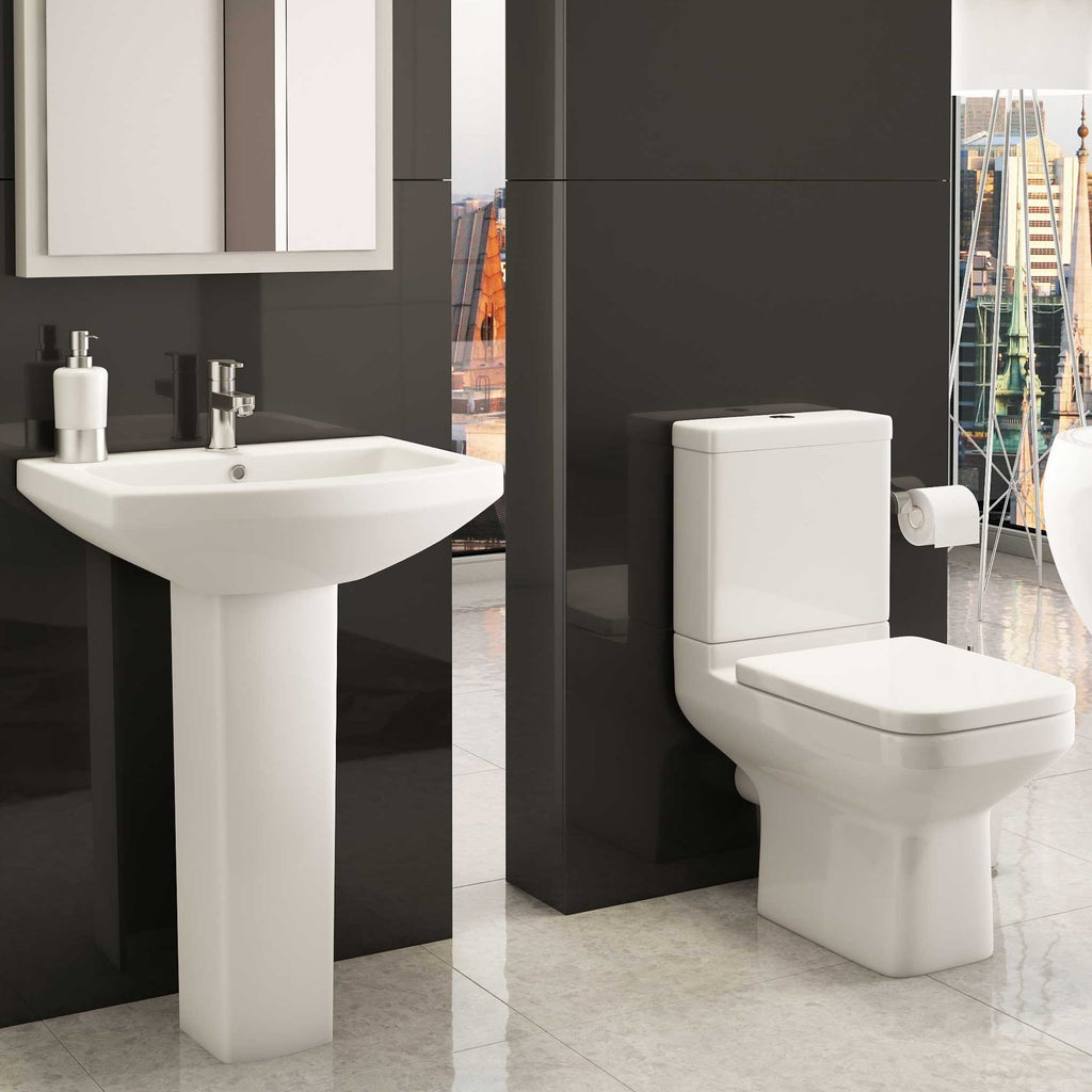 Trim P Shape Bathroom Suite (RRP £826)