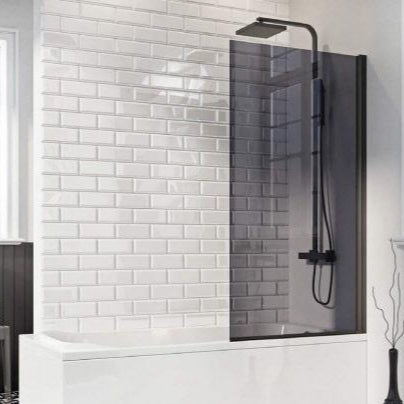 Mono Square Edge 6mm Bath Screen