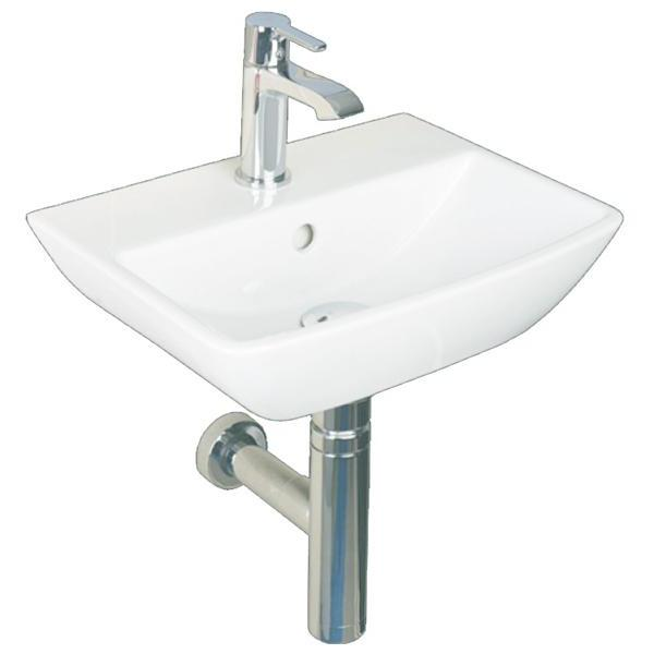 Summit Cloakroom Basin & Bottle Trap