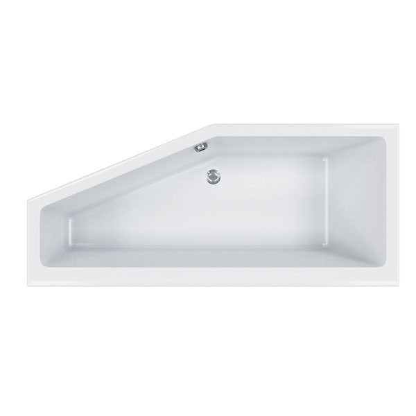 Spacesaver Single Ended Bath, Carronite  - 1700mm