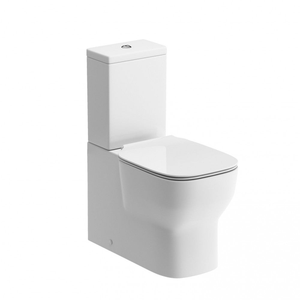 Senna Close Coupled Fully Shrouded Toilet