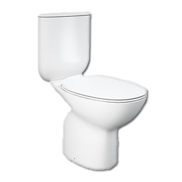 Morning Close Coupled Rimless Toilet