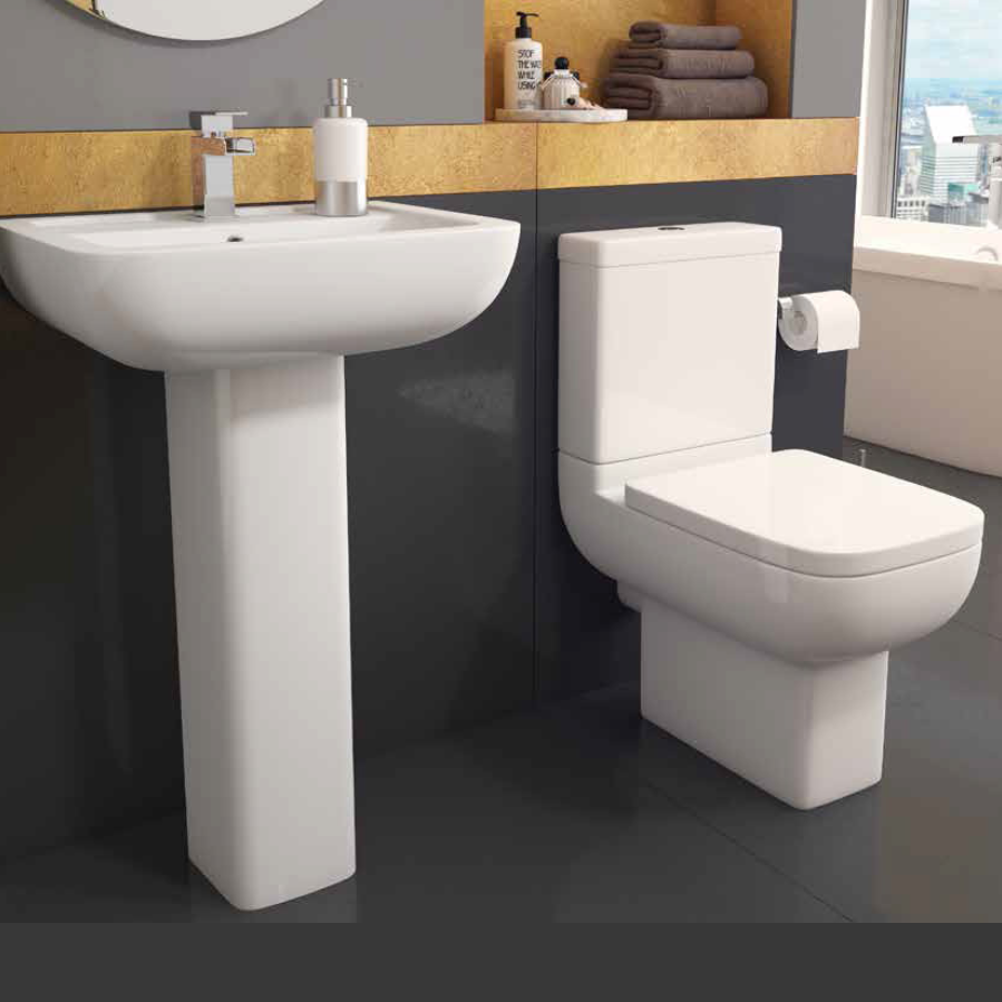 Options 600 Complete Bathroom Suite (RRP £800)